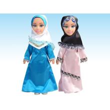 2015 Nueva muñeca musulmana plástica con IC árabe