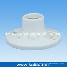 Porcelain Lamp Holder (E27F507W-2)
