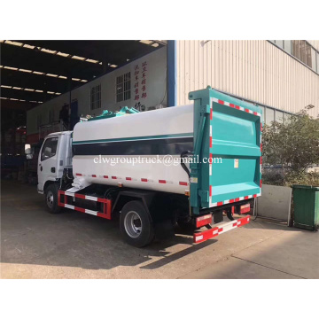 Dongfeng rear loading garbage truck for sale