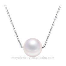 Colgante de plata de la perla del collar 925