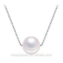 925 серебряный кулон ожерелье жемчужина подвеска