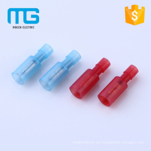 Hot selling Brass type Nylon Fully insulated bullet male and female disconnects