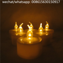 Lampu teh LED Flameless Lilin Baterai lilin