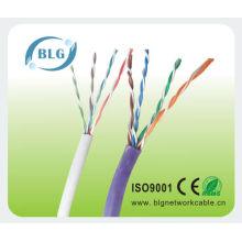 Qualidade superior do cabo do utp cat5e baseado em ISO, CE, RoHS