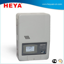 New type wall mount AC current Type automatic voltage regulators or voltage stabilizers with LCD display