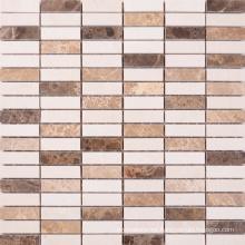 Suitable for Lobby Bathroom Living Room Marble Mosaic Border Tiles