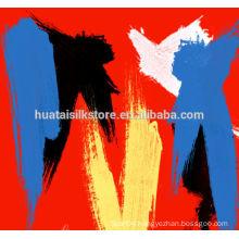 New Design 100 silk 2014 world cup football scarf