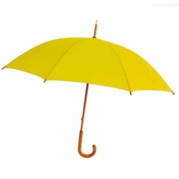 Parapluie droit manuelle et manchon en bois manuel (BD-70)