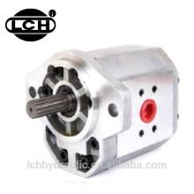rotary cast iron hydraulic power triple gear pump