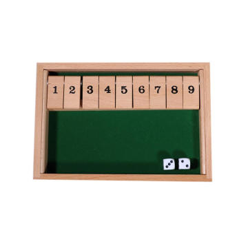 Mini juego de madera superventas Shut The Box