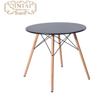 cheap table Style Wooden Metal Dining Table Sets In Dining Room