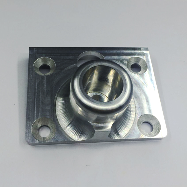 machining aluminum connection plate