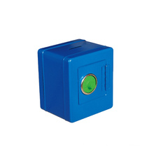 China Factory Kids Toys Coin Display Box Metal Cash Box with Combination Lock