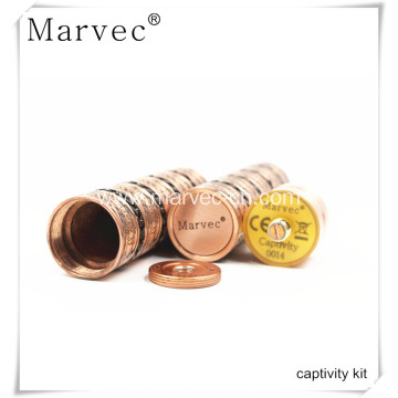 Marvec Captivity copper material vape cigarette kit