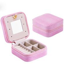 vitrines portables boîte d'emballage de bijoux