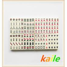 Marfim viagem mahjong em caixa de PVC