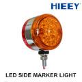 2015 NUEVO marcador de doble cara LED camión ligero lado llevó marcador luz 12 / 24V luz de marcador lateral