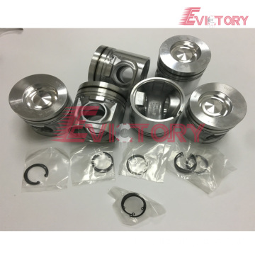 Excavator parts D6E piston connecting rod crankshaft