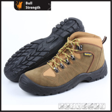 Industrial Leather Safety Shoes with Steel Toe and Steel Plate (SN5239)