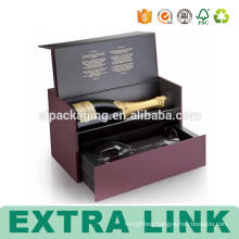 Two Bottle Corrugated 3 Packs Wine Paper Box