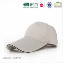 White Cotton Canvas Sandwich Promotional Cap