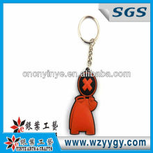 2013 Novelty Popular PVC Key Ring, Promotional Key Chain