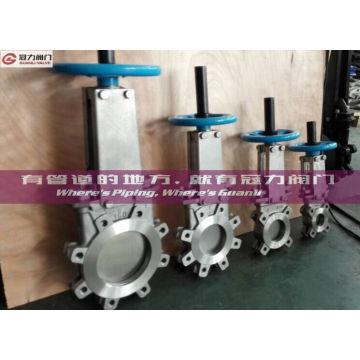 ANSI 16,5 todo-tipo válvula de porta da tala da válvula para o tratamento da água
