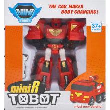 Carro faz carro-mudando brinquedo brinquedo de carro de robô