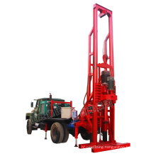 truck-mounted full hydraulic drilling rig price