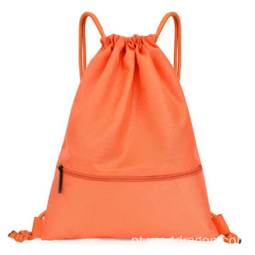 Custom High Quality Outdoor Drawstring Sports Small Backpack