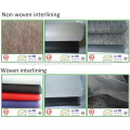 Entretelas no tejidas adhesivas de la anchura 100 / 150cm para la tela termal
