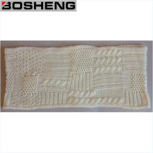 Bufanda de punto blanco suave caliente de la manera de las mujeres