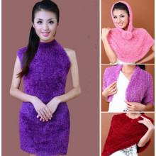 Echarpe magique en nylon de haute qualité Taiwan pour femmes (MU6603-1)