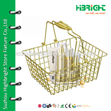 supermarket duty free shopping basket