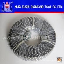 Califique una sierra de alambre de diamante de cantera para mármol y granito