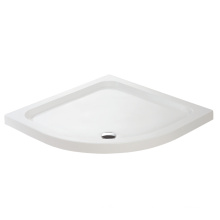 Round Artificial Stone Shower Tray