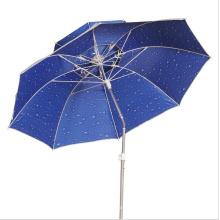 Guarda-chuva de pesca ao ar livre, guarda-chuva de praia de proteção UV