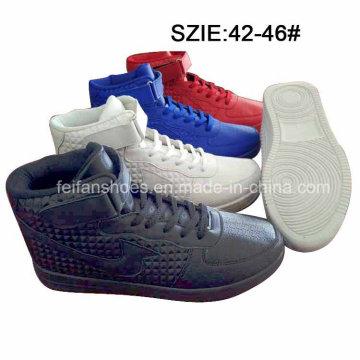 Sapatos MID de corte de injeção de baixo preço Menâ € ™ s (MP16721-2)