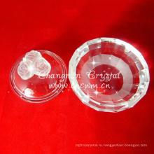 Кристаллическая Коробка ювелирных изделий,коробка хрустальная роза,кристалл подарок