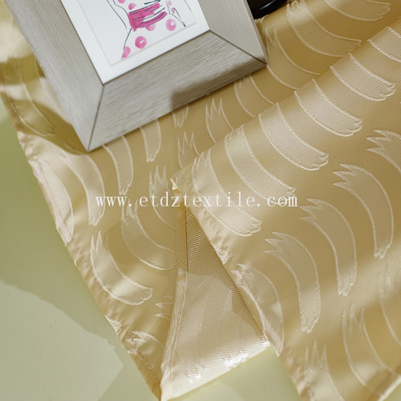 Soft textile Curtain Fabric WZQ177