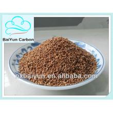 grano de cáscara de nuez para filtración de agua