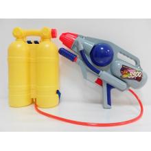 Brinquedos de verão pistola de água bomba com mochila (h0102211)