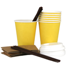 disposable paper products_biodegradable hot drink cups and lids_coffee in cups disposable