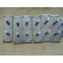 Placa de apoio do elevador da frota do concreto pré-fabricado do material de construção (hardware da construção)