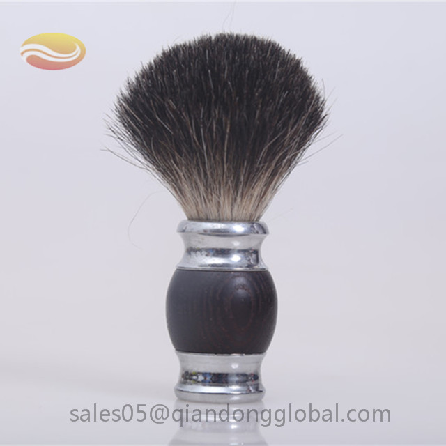 Wood Handle Black Badger Shaving Brush Knot