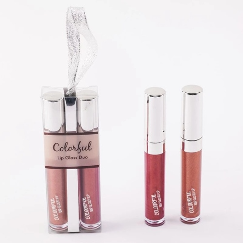 2pcs / set Maquillaje líquido Lipstick Matte Lip Gloss Set