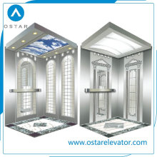 630kg 1: 1 Roping Passenger Elevator Cabin with Factory Price (OS41)