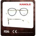 2017 round shape combine temple eyewear optical frames eyeglassses