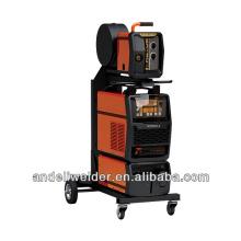 Chinese TOP3 Full digital multiprocess pulse co2 mig aluminium welding machine