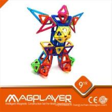 Création de créativité magnétique à crémaillère multifonctionnelle 14 pièces
